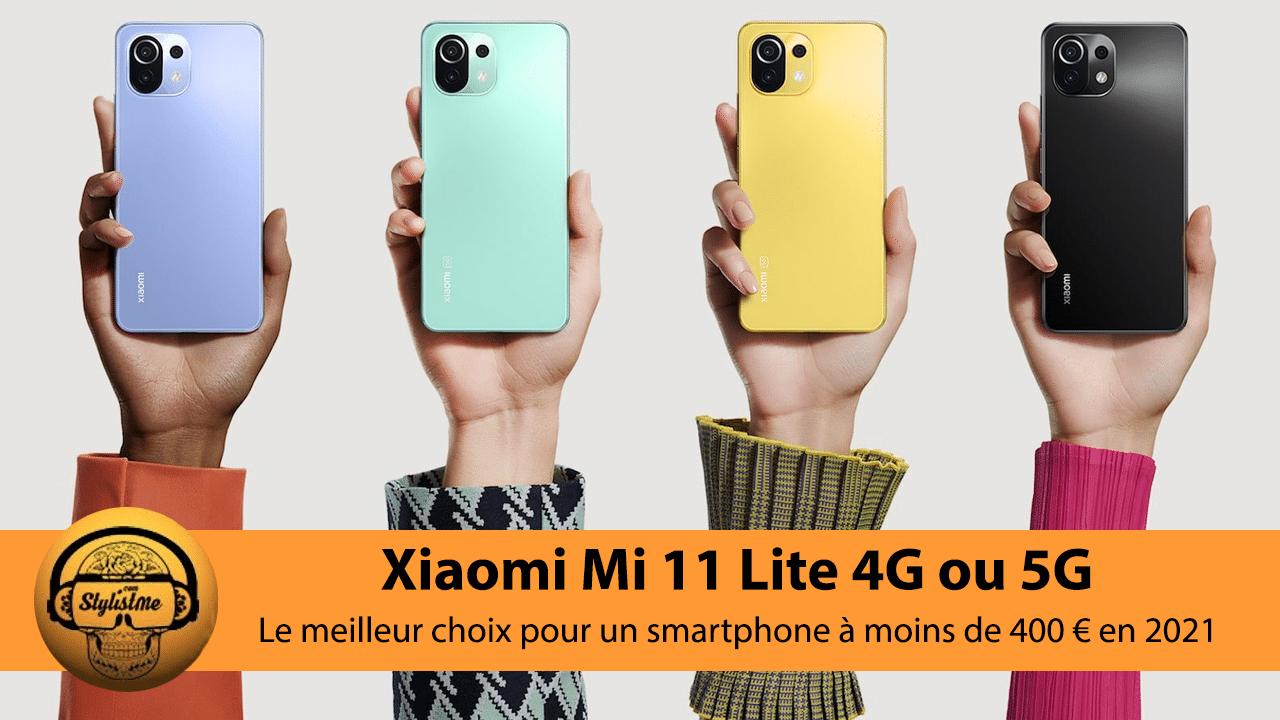 Xiaomi Mi 11 Lite test avis