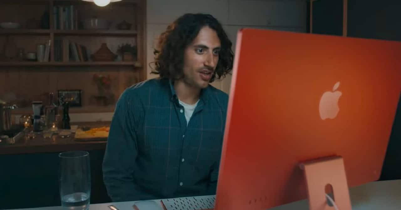 visioconférence iMac 2021