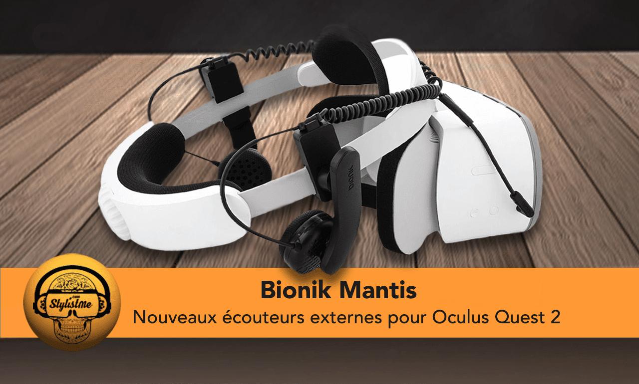 Bionik Mantis VR écouteurs Quest 2