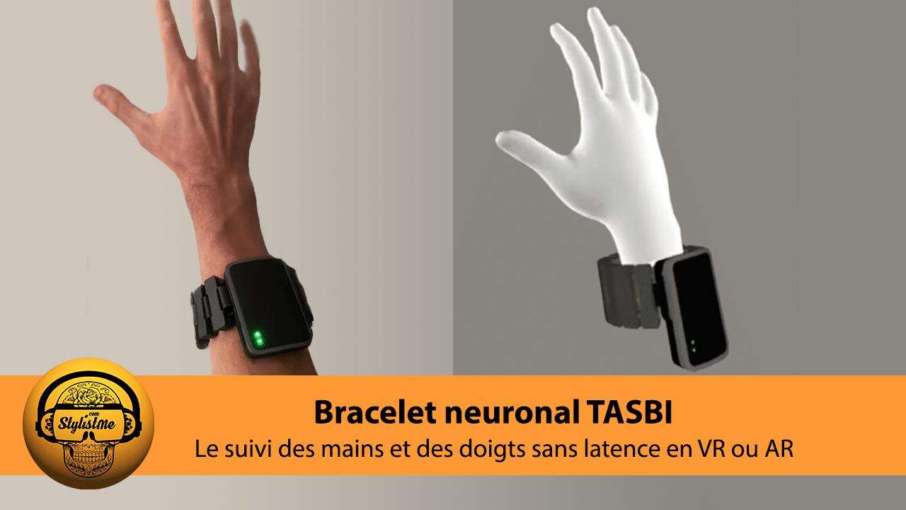 Bracelet neuronal Tasbi Facebook Oculus suivi des mains
