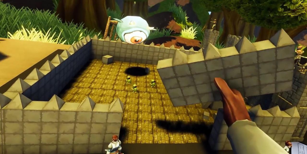 Dungeon Ful Dive créer vos cartes et plateau de jeu de rôle en 3D VR
