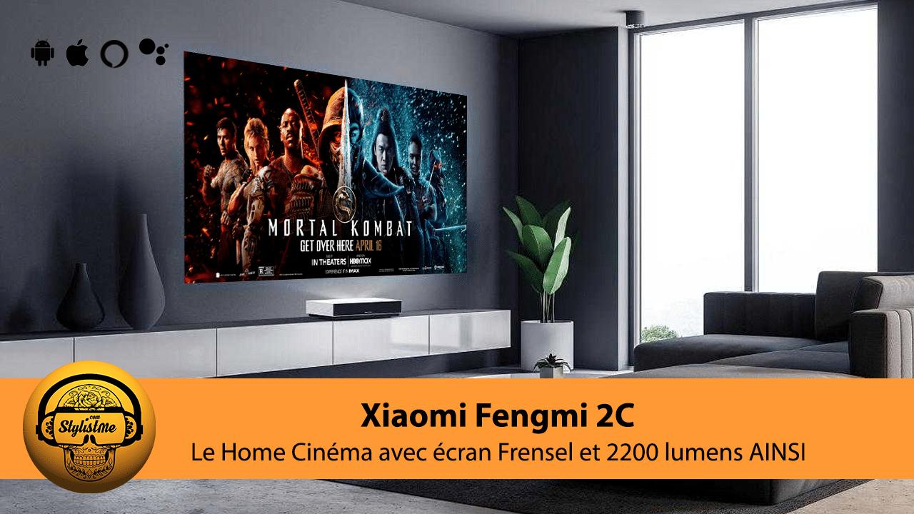 Fengmi C2 avis test Xiaomi vidéoprojecteur laser 4K