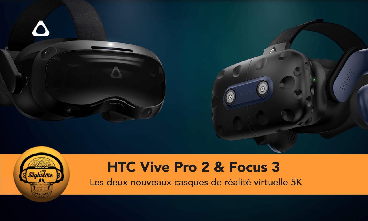 HTC Vive Pro 2 test avis prix