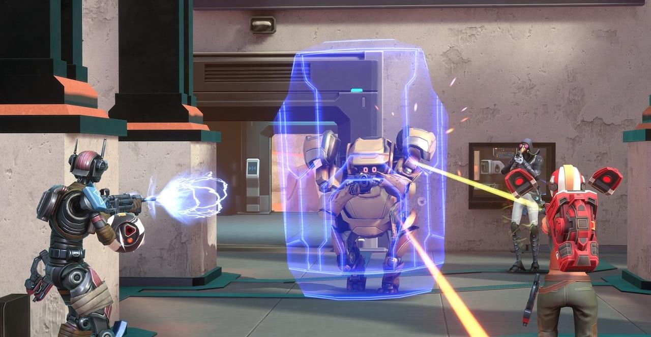 Larcenauts VR gameplay