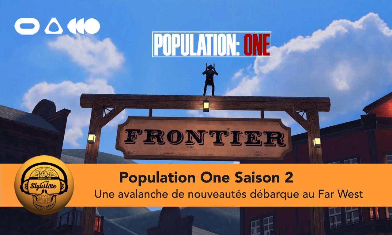 Population One Saison 2