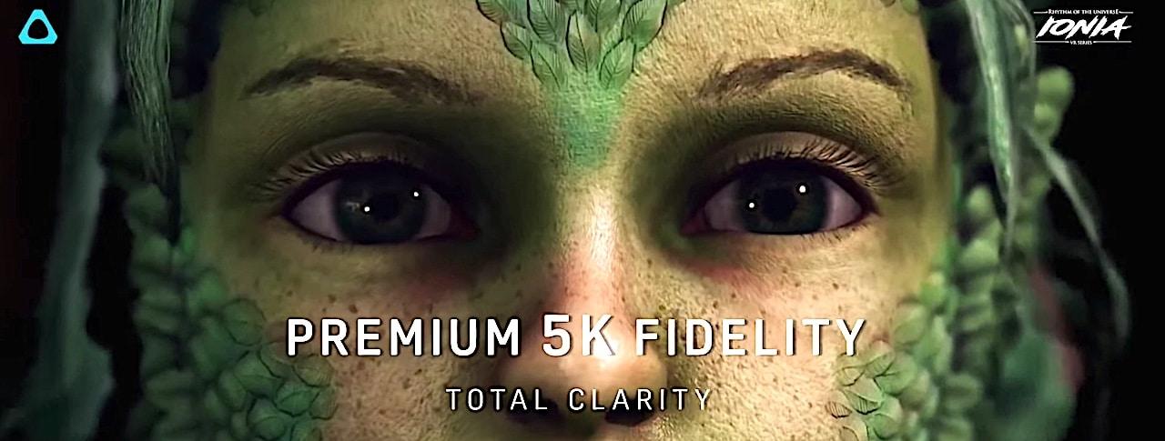 Qualité image Vive Pro 2 5K