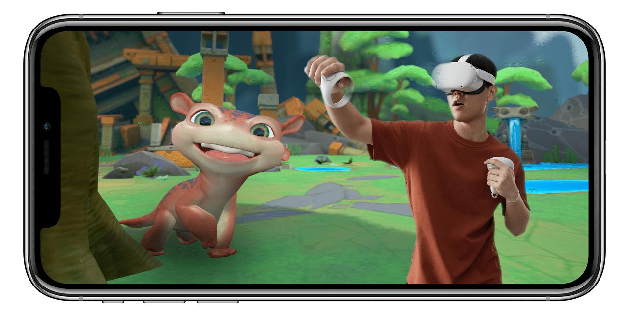 Superposition vidéo réelle sur vidéo Quest V29