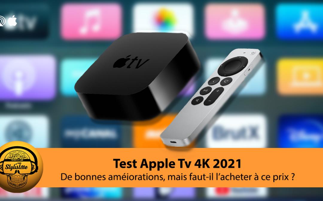 Apple TV 4K 2021 test de la nouvelle box TV connectée avec puce A12