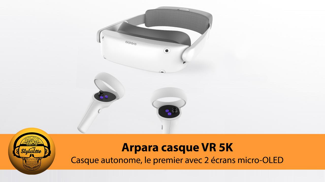 Arpara VR avis test casque realite virtuelle