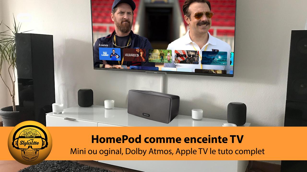 Comment utiliser votre HomePod comme enceinte TV