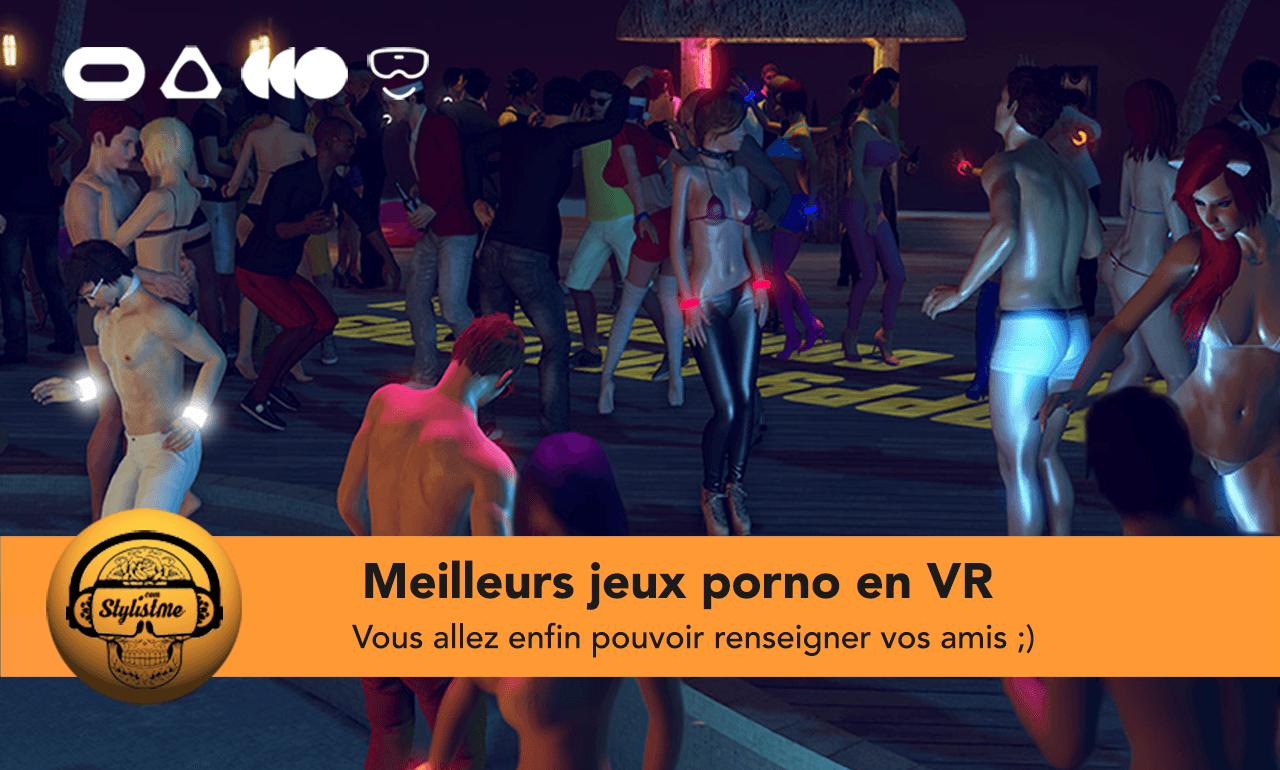 Meilleurs jeux porno VR 2021 Quest PC VR
