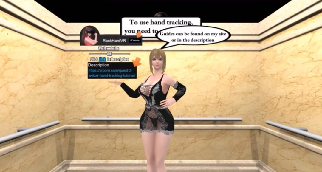 Rising Up With Faye WebXR prono VR