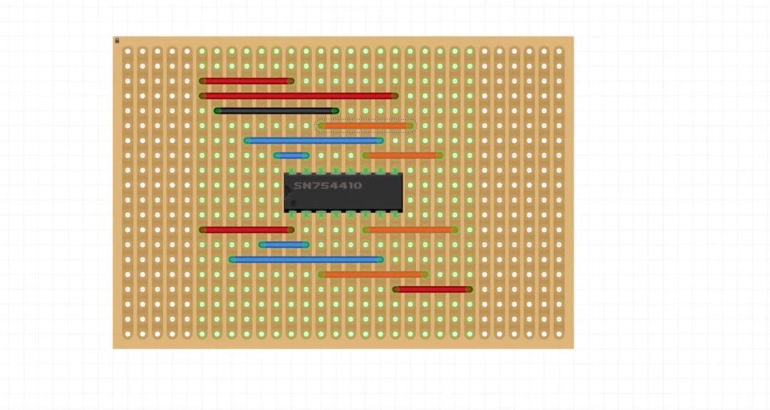 connexion moteurs haptique VRvest