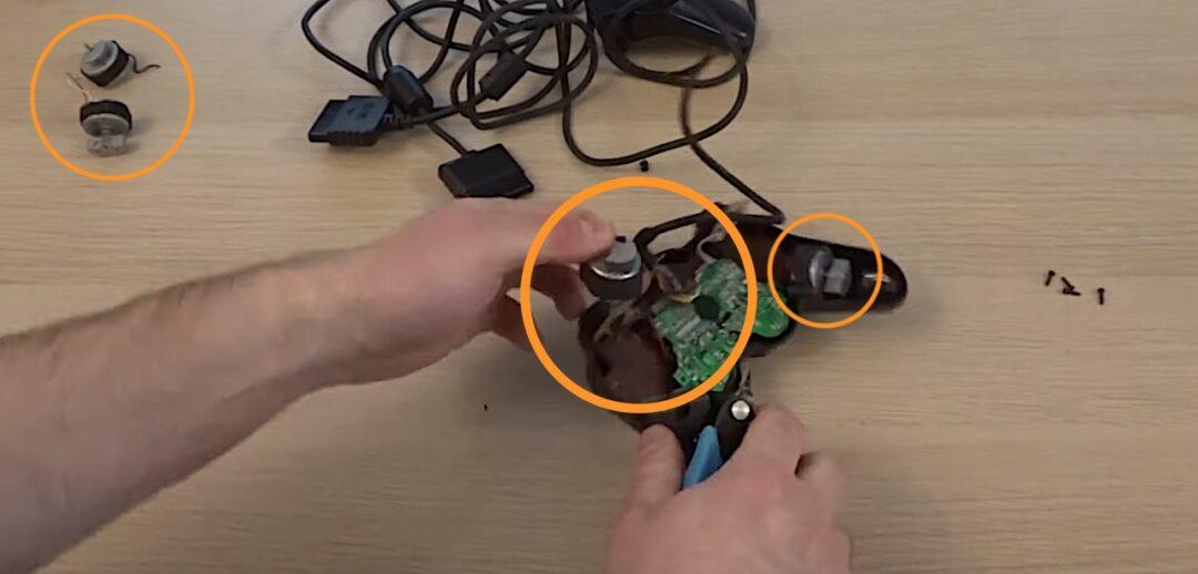 moteur vibration manette PS2 DualShok