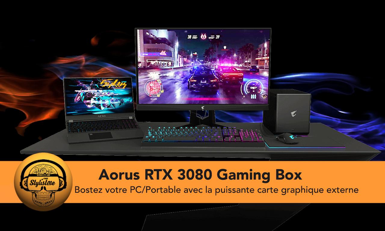 Aorus RTX 3080 Gaming Box test avis