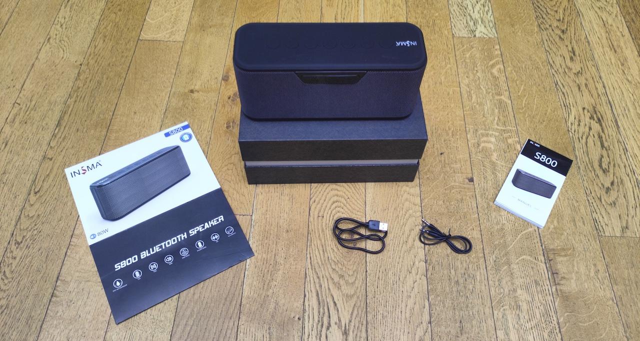 INSMA S800 unboxing prix