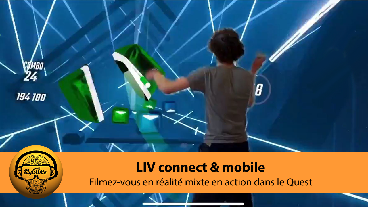 Liv tuto Quest Connect mobile