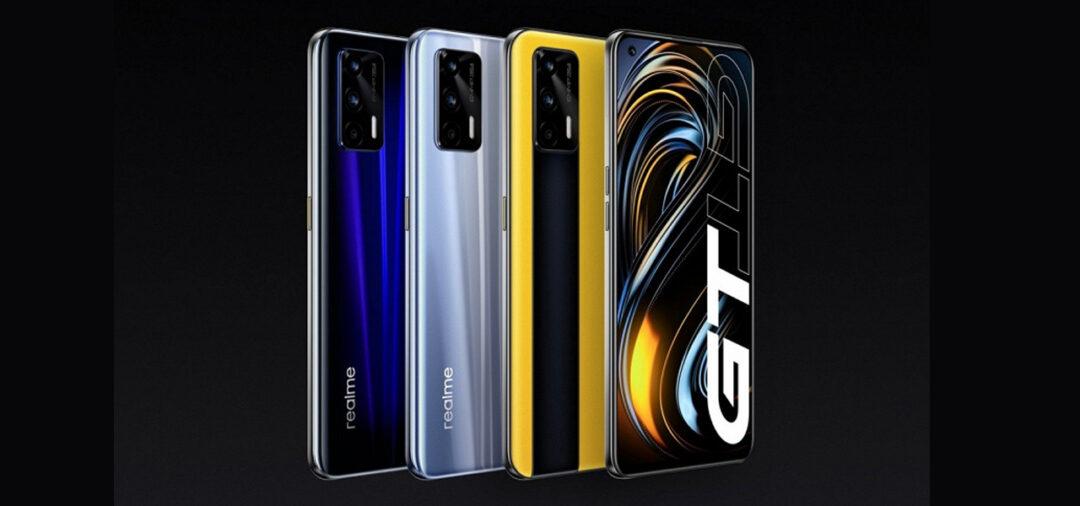 Realme GT 5G couleurs et modelés