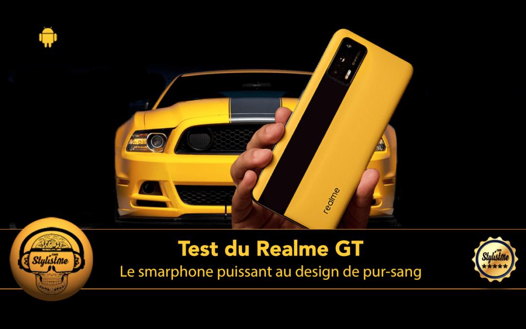 Realme GT 5G : superbe smartphone inspiré du design automobile