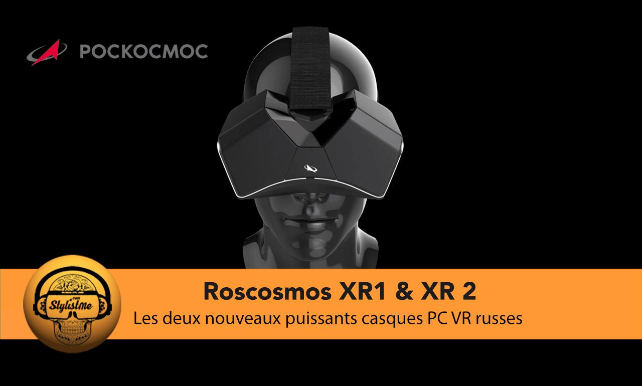 Roscosmos Pockomoc casque VR russe