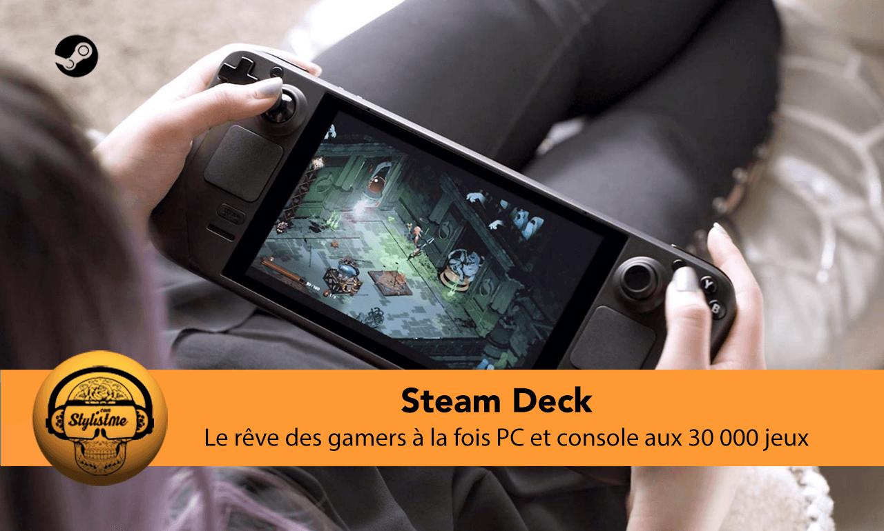 Steam Deck test avis