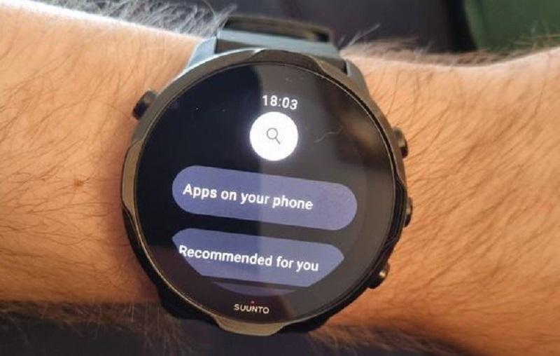 Wear OS 3 amélioration Google Play Store