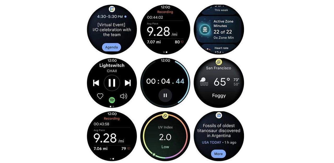 Wear OS 3 interface et performance