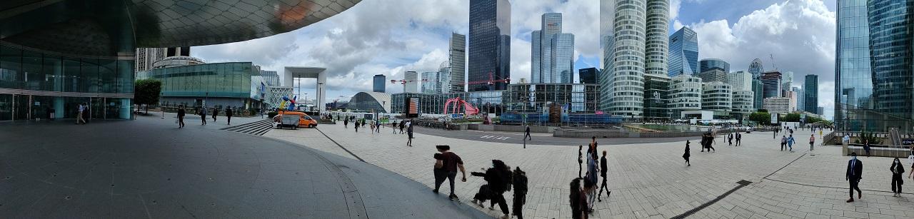 Photo panoramique Realme GT