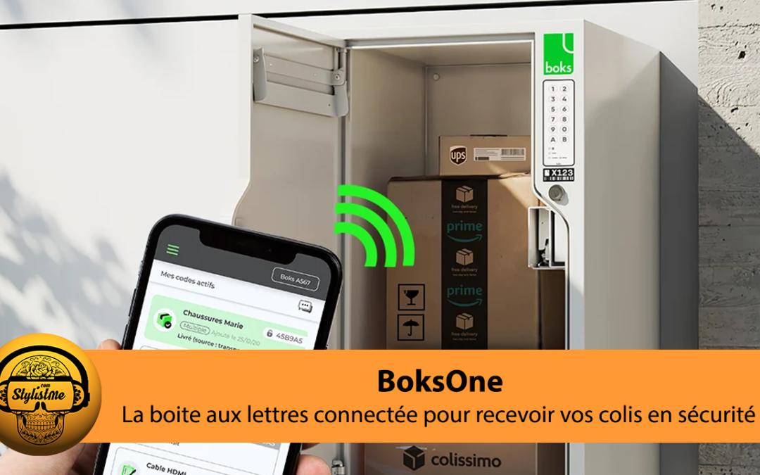 BoksOne la boite aux lettres connectée sécurisée pour les colis