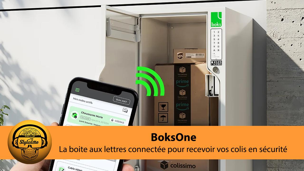 BoksOne test avis boite aux lettres connectee