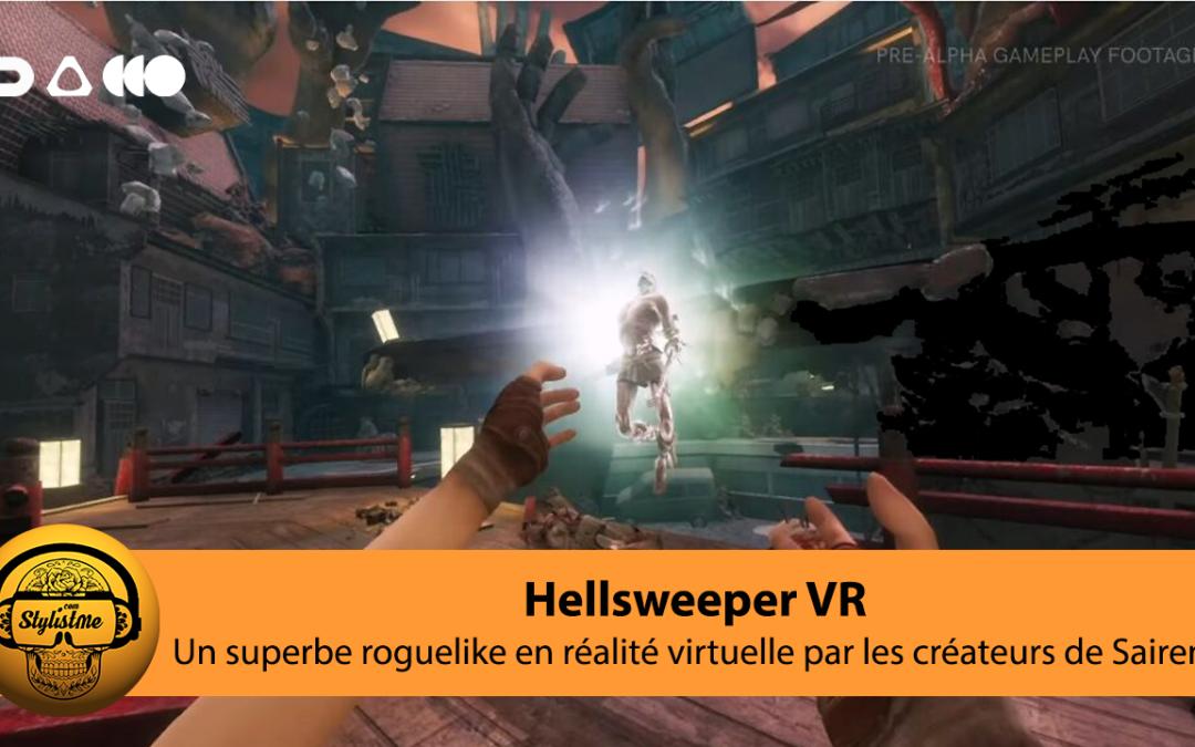Hellsweeper VR un sublime roguelike action et magie sur Quest et PCVR