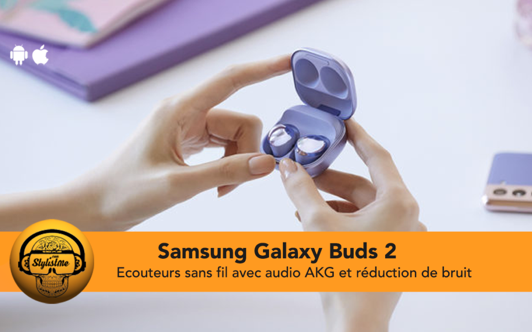 Samsung Galaxy Buds 2 écouteurs intra auriculaires true wireless