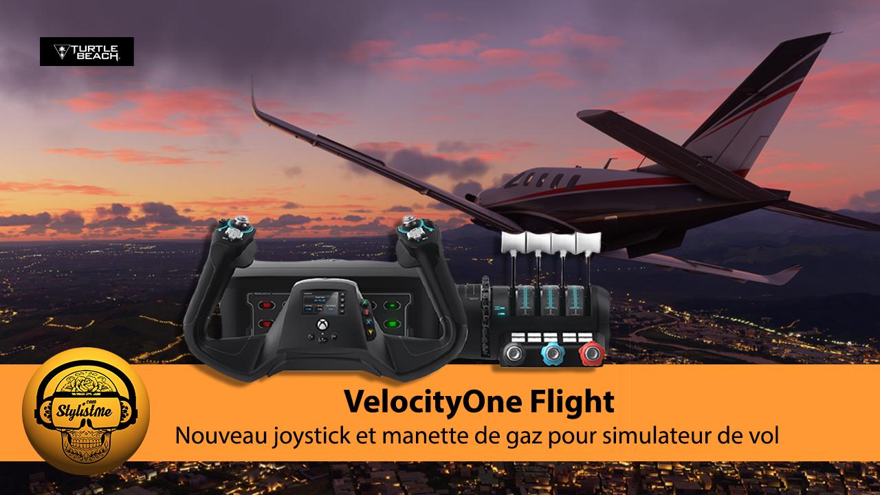 VelocityOne Flight tast avis