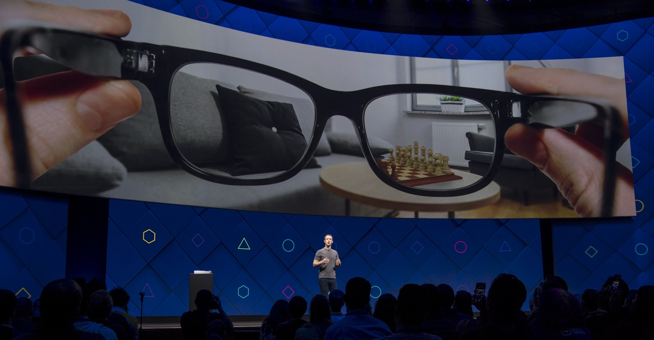 Facebook Aria AR glasses