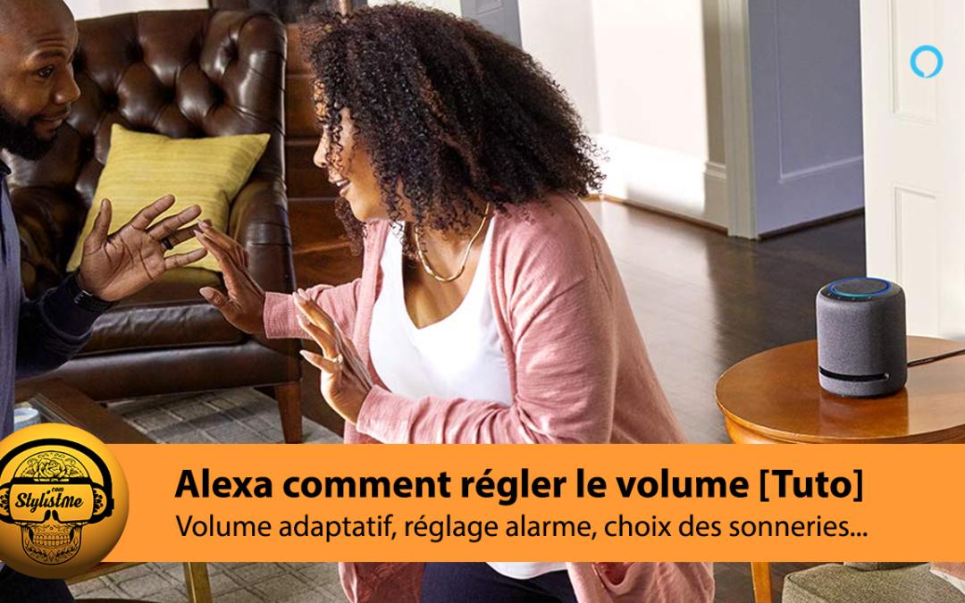 Alexa comment régler le volume de vos assistants vocaux en fonction du bruit