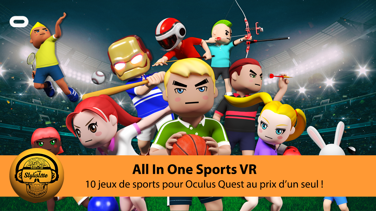All in one sports VR avis test