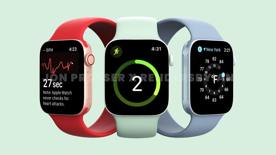 Apple Serie 7 couleurs