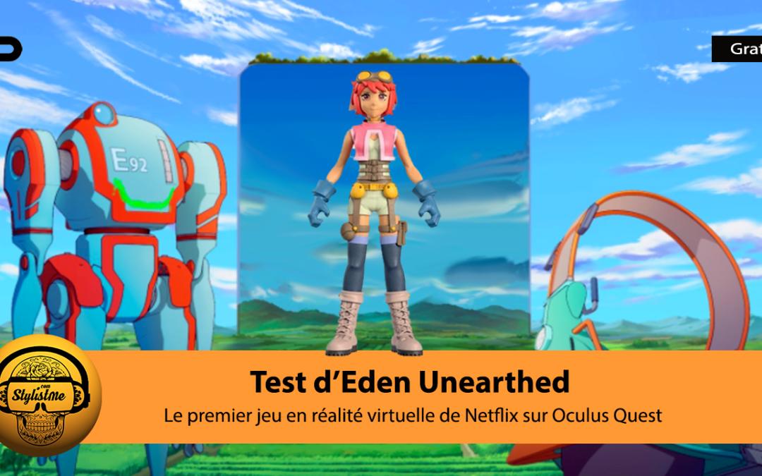 Eden Unearthed mini jeu gratuit réalisé par Netflix pour Oculus Quest