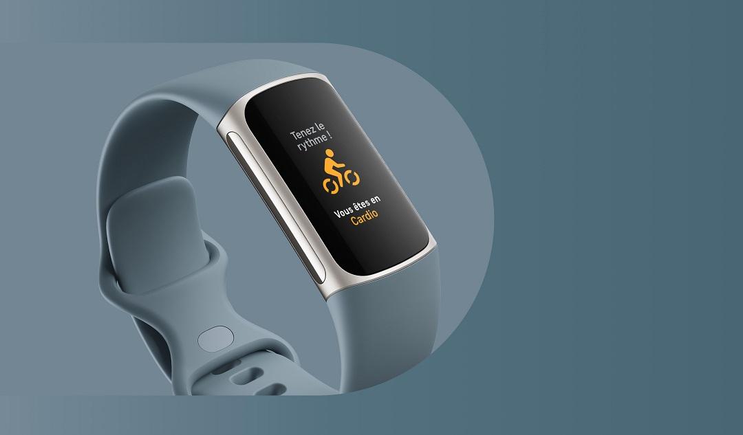 Fitbit charge 5 fonctionnalités
