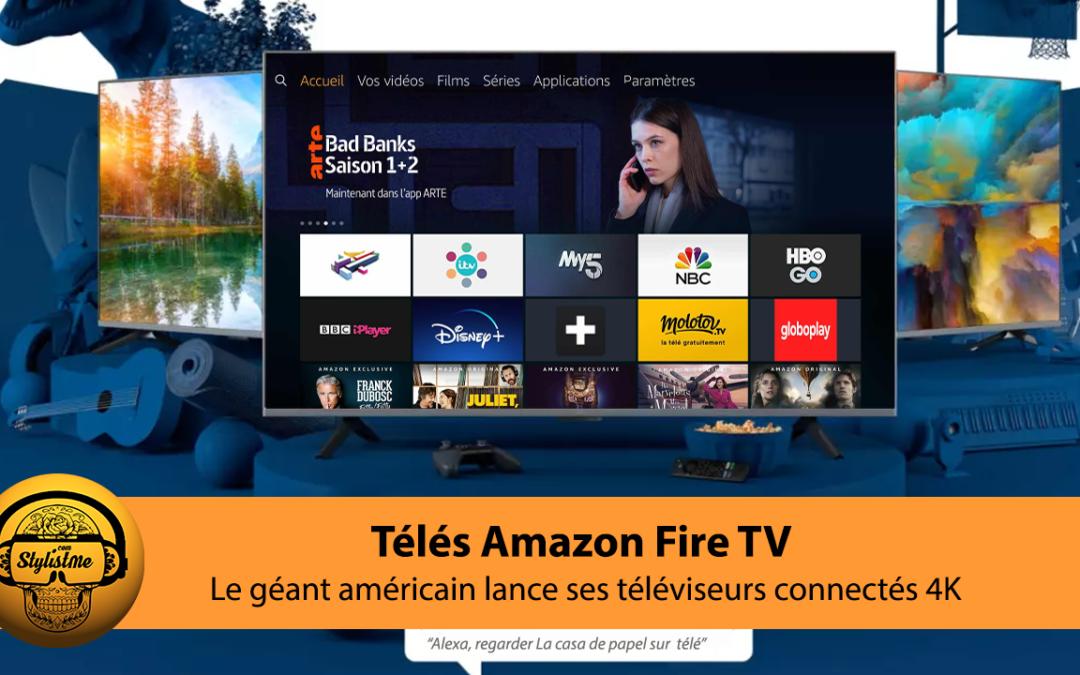 Amazon Fire TV 4 et Amazon Fire TV Omni les téléviseurs connectés à la voix