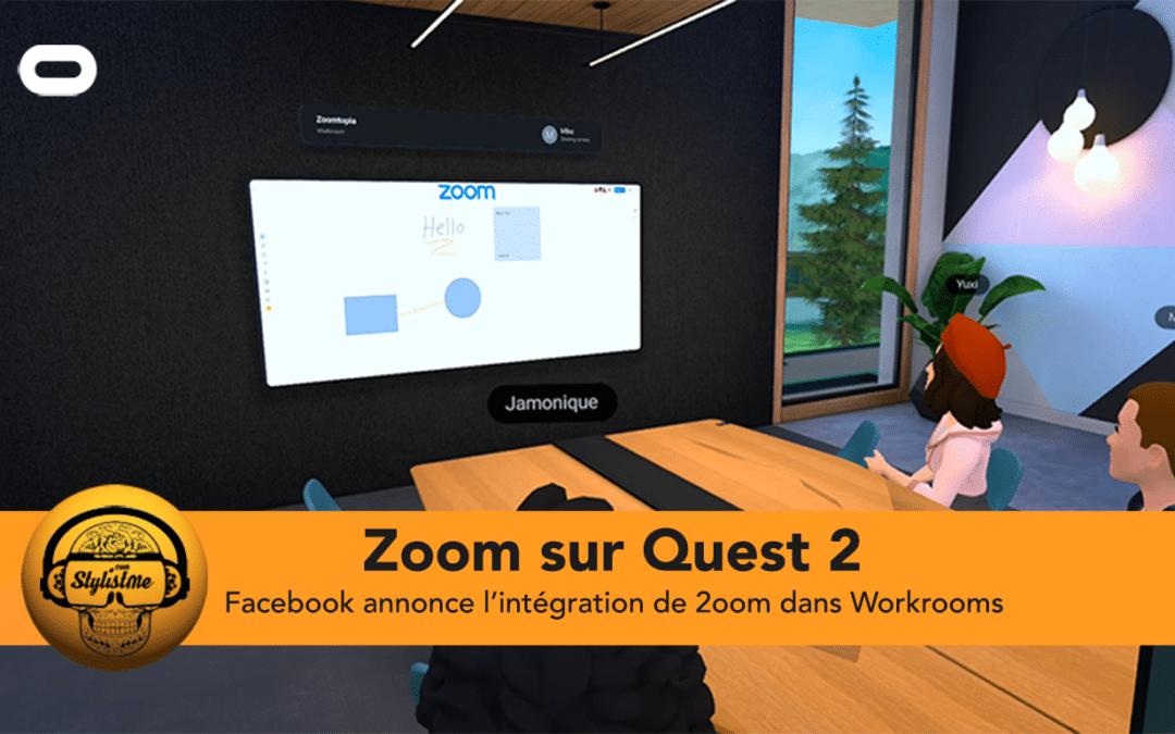 Zoom intègre l'univers de la réalité virtuelle sur Oculus Quest