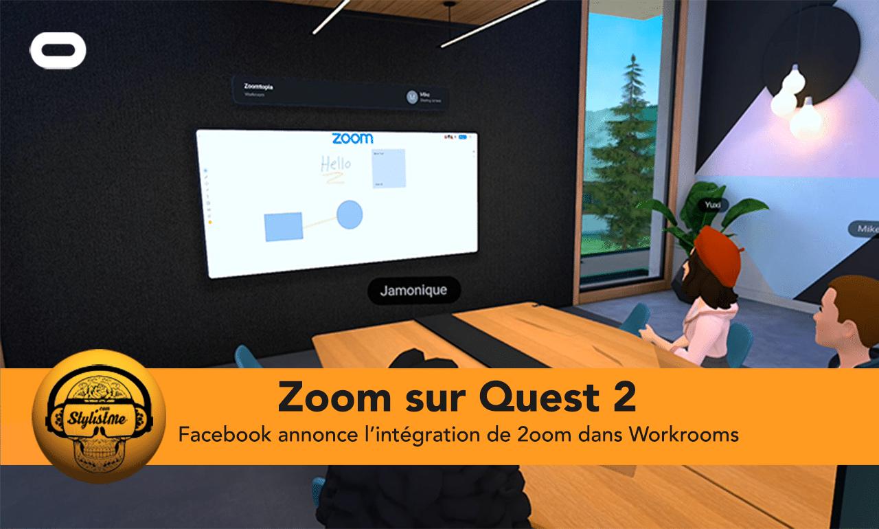 Zoom Oculus Quest 2